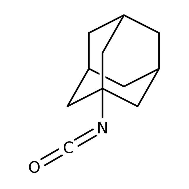 1-Adamantyl isocyanate, 98%, ACROS Organics™ 1g; Glass bottle 1-Adamantyl isocyanate, 98%, ACROS Organics™