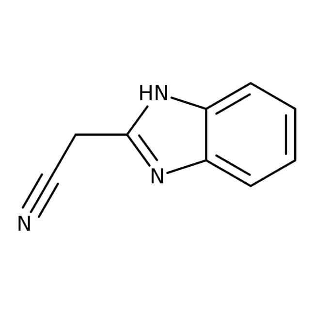 Alfa Aesar™2-Benzimidazolacetonitril, 99% 2g Alfa Aesar™2-Benzimidazolacetonitril, 99%