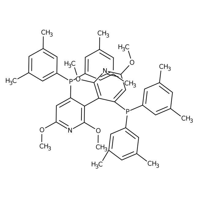 Alfa Aesar™(S)-(-)-2,2',6,6'-Tetramethoxy-4,4'-bis(di(3,5-xylyl)phosphino)-3,3'-bipyridine
