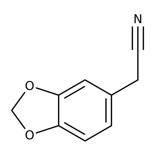 3,4-Methylenedioxyphenylacetonitrile 98.0+%, TCI America™
