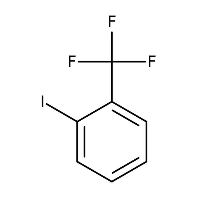 2-Iodobenzotrifluoride, 99%, ACROS Organics™ 5mL; Glass bottle 2-Iodobenzotrifluoride, 99%, ACROS Organics™