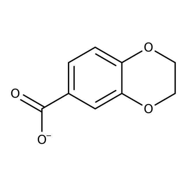 2,3-Dihydro-1,4-benzodioxine-6-carboxylic acid, 97%, Maybridge