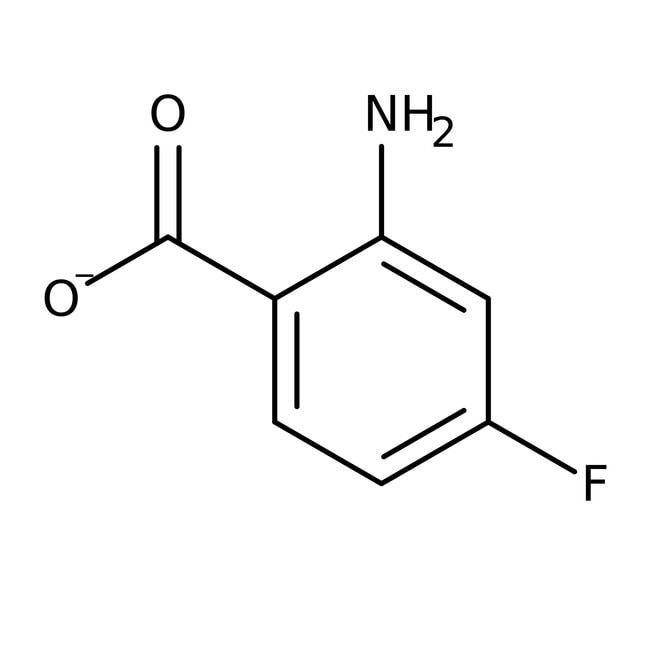 2-Amino-4-fluorobenzoic acid, 96%, ACROS Organics™