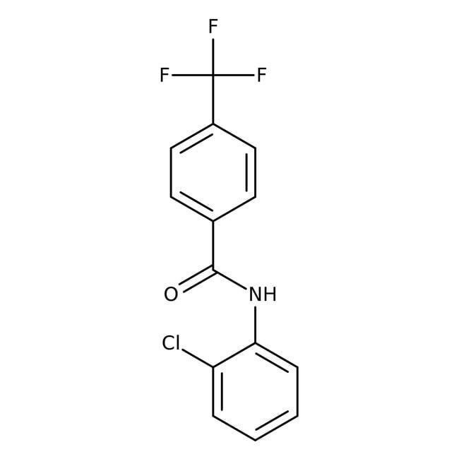 Alfa Aesar™N-(2-Chlorophényl)-4-(trifluorométhyl)benzamide, 97% 1g Alfa Aesar™N-(2-Chlorophényl)-4-(trifluorométhyl)benzamide, 97%