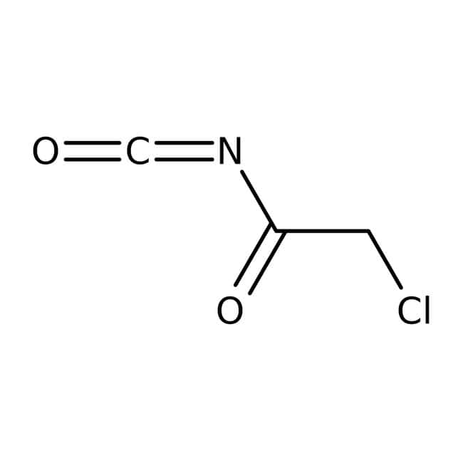 Chloroacetyl isocyanate, 90%, Tech., ACROS Organics™ 5g; Glass bottle Chloroacetyl isocyanate, 90%, Tech., ACROS Organics™