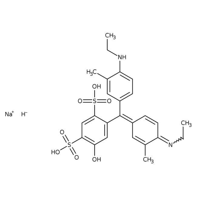 Xylene Cyanol FF 85%, ACROS Organics™ 500g; Glass bottle Xylene Cyanol FF 85%, ACROS Organics™