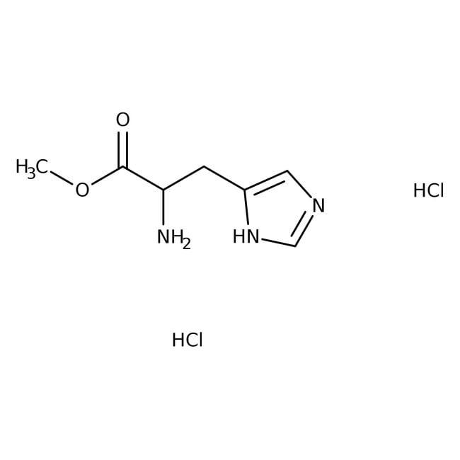 Alfa Aesar™D-Histidine methyl ester dihydrochloride, 95% 1g Alfa Aesar™D-Histidine methyl ester dihydrochloride, 95%