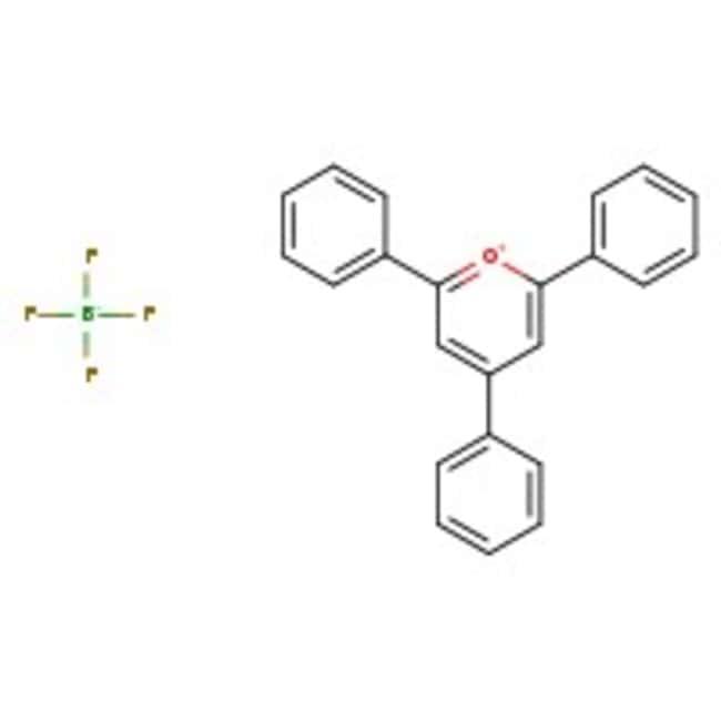 Alfa Aesar™2,4,6-Trifenilpirilio tetrafluoroborato, 97% 5g Alfa Aesar™2,4,6-Trifenilpirilio tetrafluoroborato, 97%