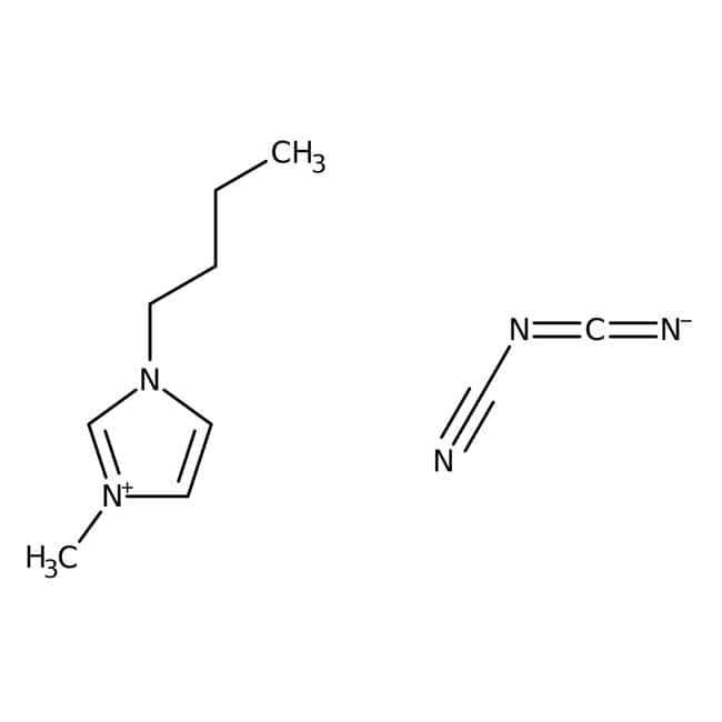 Alfa Aesar™1-n-Butyl-3-methylimidazolium dicyanamide, 97% 5g Alfa Aesar™1-n-Butyl-3-methylimidazolium dicyanamide, 97%