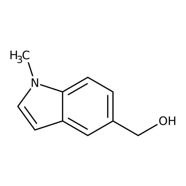 (1-Methyl-1H-indol-5-yl)methanol, 97%, Maybridge Amber Glass Bottle; 1g (1-Methyl-1H-indol-5-yl)methanol, 97%, Maybridge