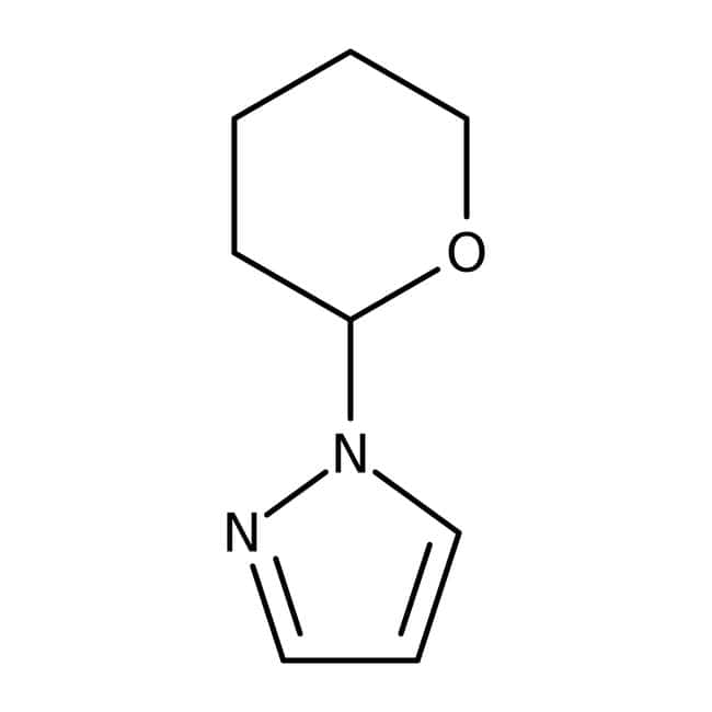 Alfa Aesar™1-(2-Tetrahydropyranyl)-1H-pyrazole, 98% 1g Alfa Aesar™1-(2-Tetrahydropyranyl)-1H-pyrazole, 98%