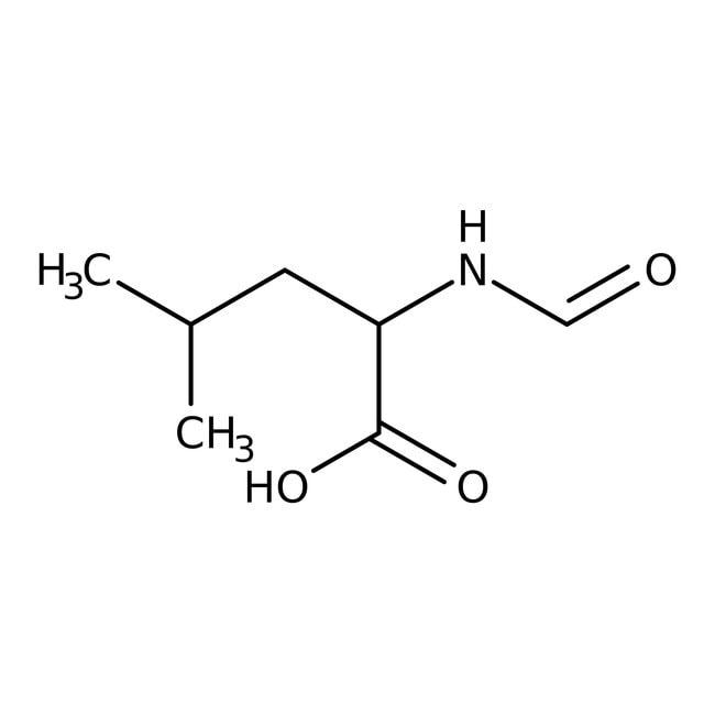 Alfa Aesar™N-Formyl-D-leucine, tech. 90% 250mg Alfa Aesar™N-Formyl-D-leucine, tech. 90%