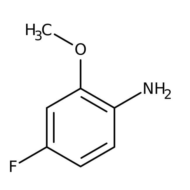 Alfa Aesar™4-Fluor-2-Methoxyanilin, 95% 1g Alfa Aesar™4-Fluor-2-Methoxyanilin, 95%