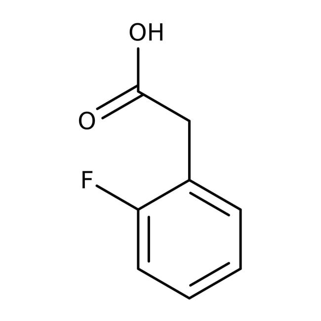 Alfa Aesar™ Acide 2-fluorophénylacétique, 98+%: Halobenzenes Benzene and substituted derivatives