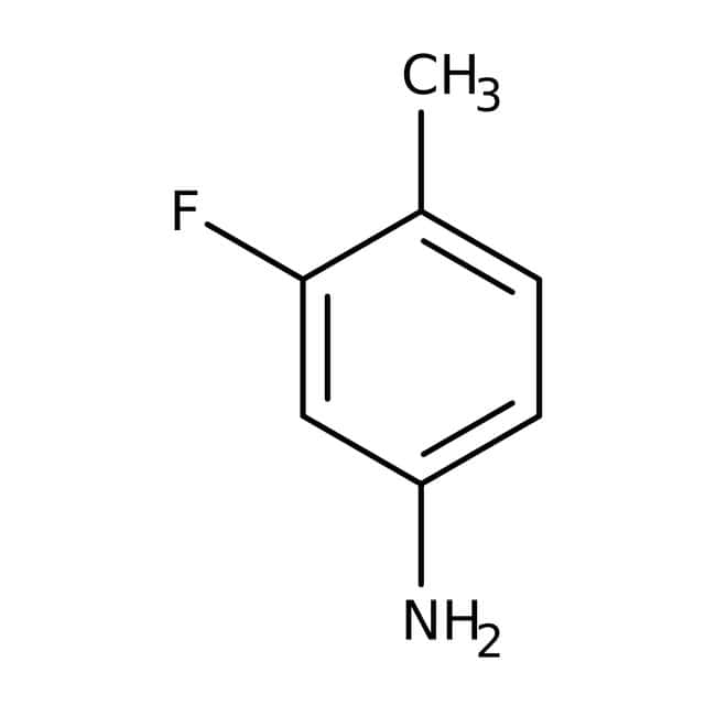 Alfa Aesar™3-Fluoro-4-methylaniline, 98+% 25g Alfa Aesar™3-Fluoro-4-methylaniline, 98+%