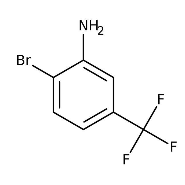 Alfa Aesar™2-Bromo-5-(trifluoromethyl)aniline, 97% 1g Alfa Aesar™2-Bromo-5-(trifluoromethyl)aniline, 97%
