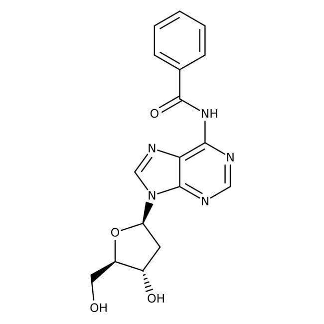Alfa Aesar™N-Benzoyl-2'-Desoxyadenosin, ≥ 98%: Biochemikalien Chemicals