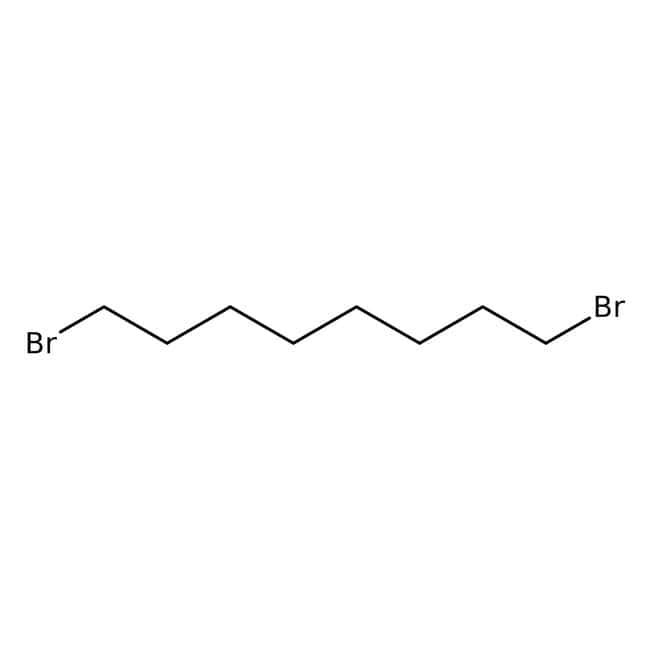 Alfa Aesar™1,8-Dibromooctano, 98% 25g Alfa Aesar™1,8-Dibromooctano, 98%