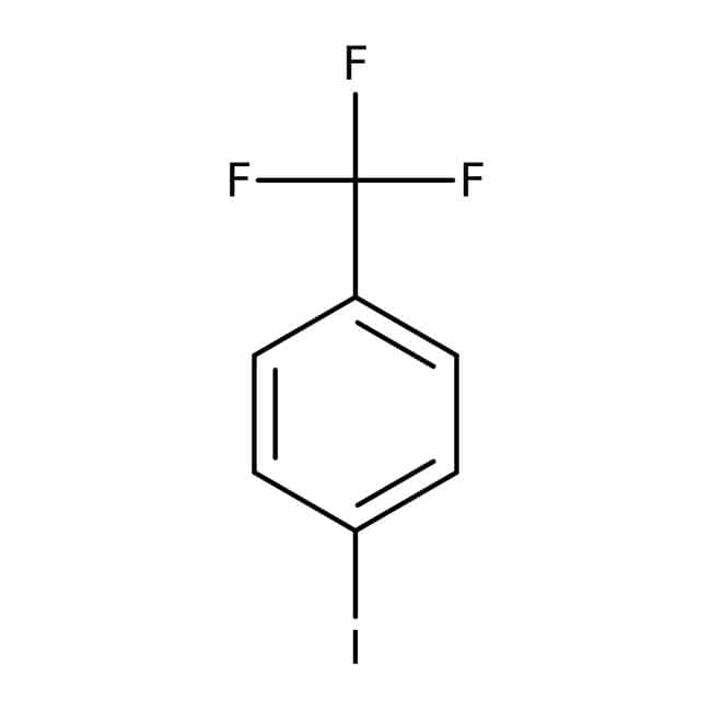 4-Iodobenzotrifluoride (stabilized with Copper chip) 97.0+%, TCI America™