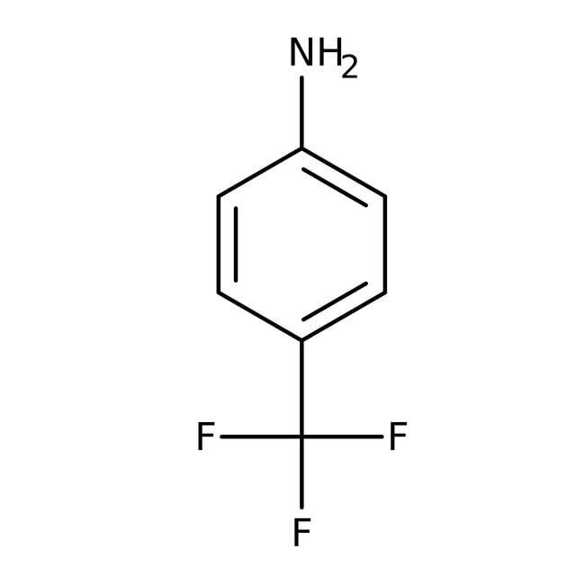4-(Trifluoromethyl)aniline, ≥97%, Maybridge™ Amber Glass Bottle; 10g 4-(Trifluoromethyl)aniline, ≥97%, Maybridge™