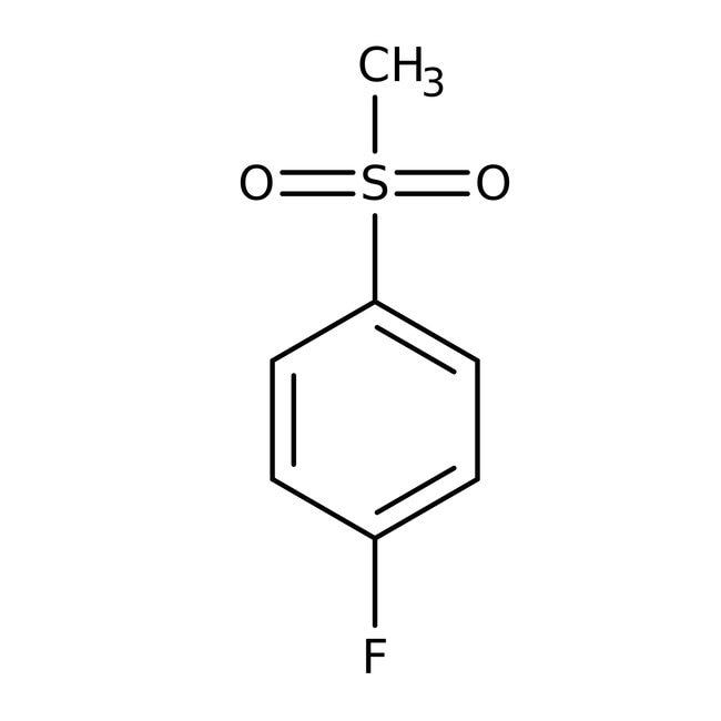 Alfa Aesar™4-Fluorophenyl methyl sulfone, 98% 25g Alfa Aesar™4-Fluorophenyl methyl sulfone, 98%
