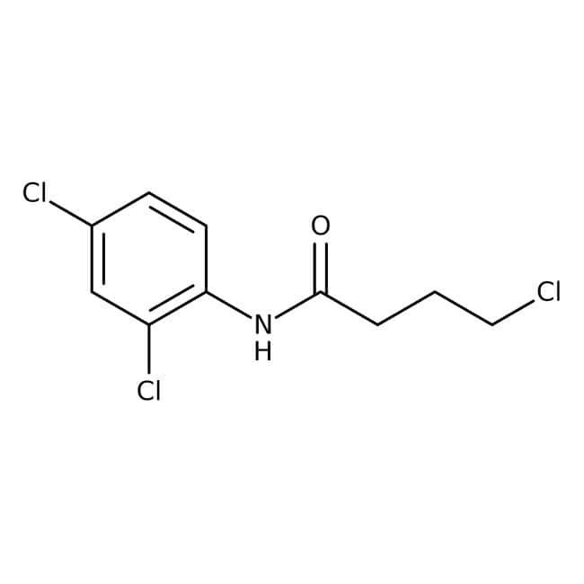 Alfa Aesar™4-Chloro-N-(2,4-dichlorophenyl)butyramide, 97% 1g Alfa Aesar™4-Chloro-N-(2,4-dichlorophenyl)butyramide, 97%