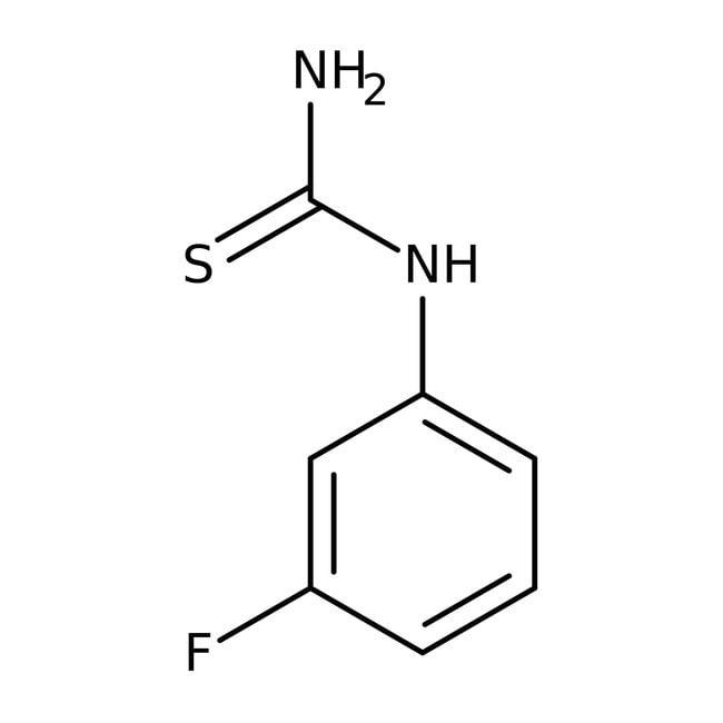 1-(3-Fluorophenyl)-2-thiourea, 98%, Acros Organics