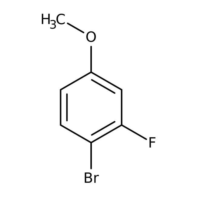 Alfa Aesar™4-Bromo-3-fluoroanisole, 97% 5g Alfa Aesar™4-Bromo-3-fluoroanisole, 97%