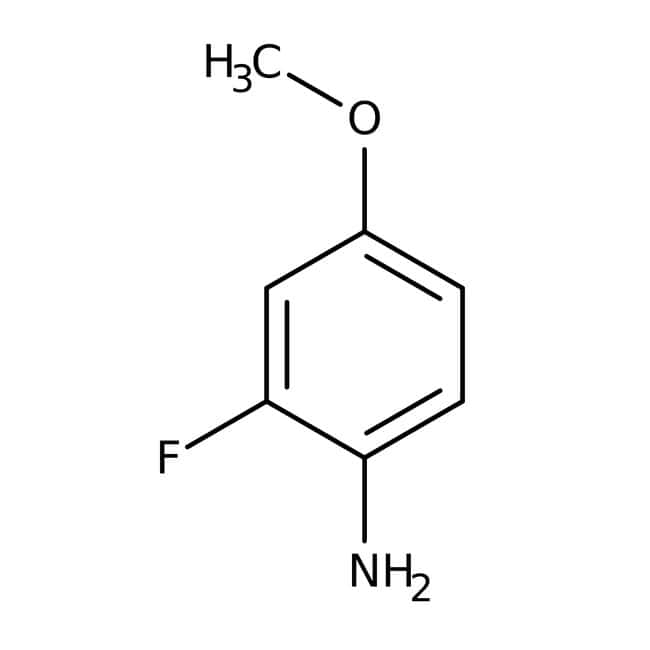 Alfa Aesar™2-Fluor-4-Methoxyanilin, JRD, 97% 1g Alfa Aesar™2-Fluor-4-Methoxyanilin, JRD, 97%