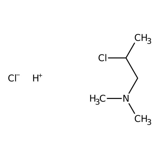 2-Dimethylaminoisopropyl chloride hydrochloride, 98.5%, ACROS Organics™