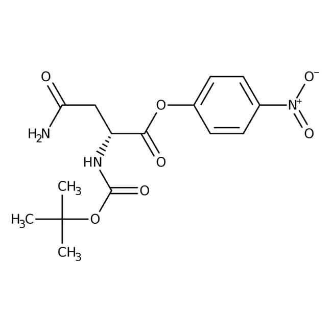 N-α-BOC-L-Asparagine 4-nitrophenyl ester, 98%, ACROS Organics™