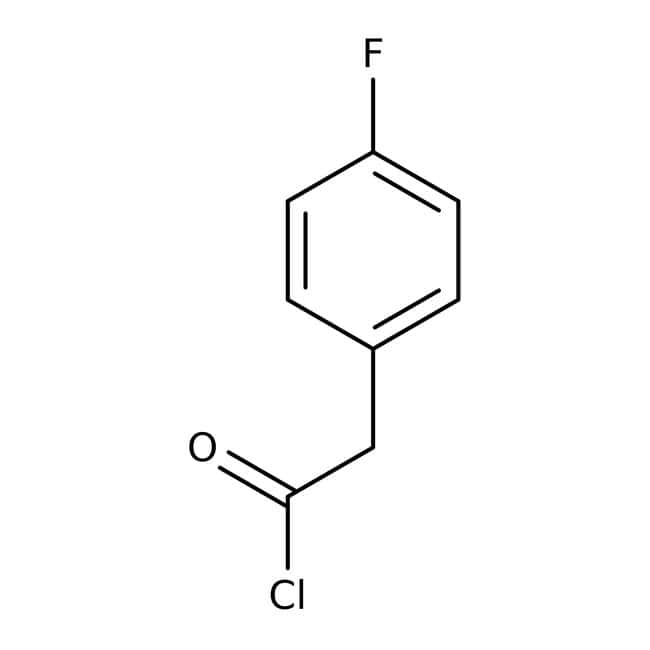 4-Fluorophenylacetyl chloride, 98%, ACROS Organics™ 5g; Glass bottle 4-Fluorophenylacetyl chloride, 98%, ACROS Organics™
