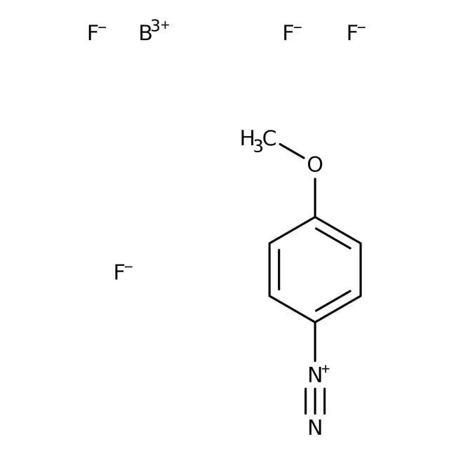 Alfa Aesar™4-Methoxybenzenediazonium tetrafluoroborate, 98%