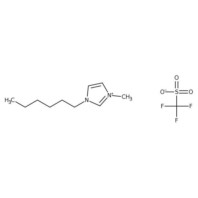 1-Hexyl-3-methylimidazolium Trifluoromethanesulfonate 98.0+%, TCI America™