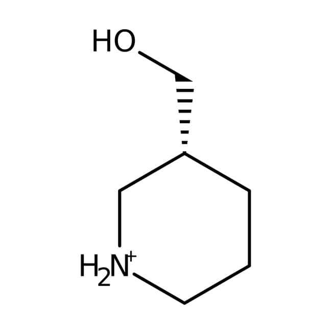 3-Pipéridineméthanol, 98%, ACROS Organics™ 5g; flacon en verre 3-Pipéridineméthanol, 98%, ACROS Organics™