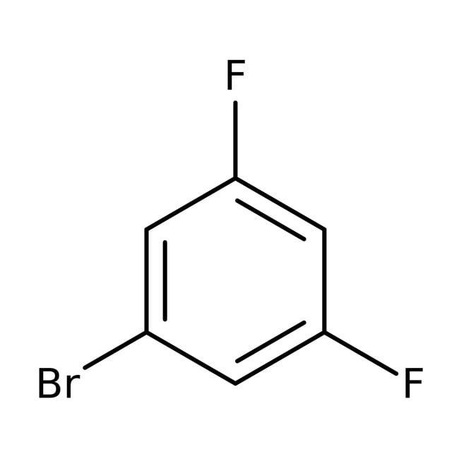 1-Bromo-3,5-difluorobenceno, 99%, ACROS Organics™ 2,5ml; frasco de vidrio 1-Bromo-3,5-difluorobenceno, 99%, ACROS Organics™
