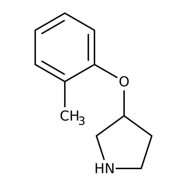 Alfa Aesar™3-(2-Methylphenoxy)pyrrolidine, 95% 250mg Alfa Aesar™3-(2-Methylphenoxy)pyrrolidine, 95%