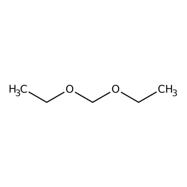 Diethoxymethane, 99%, pure, stabilized, ACROS Organics™: Ethers Organooxygen compounds