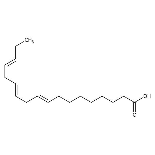 Linolenic acid, 99%, ACROS Organics™ 5g; Glass bottle Linolenic acid, 99%, ACROS Organics™
