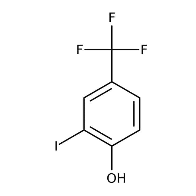 Alfa Aesar™2-Iodo-4-(trifluoromethyl)phenol, 97% 250mg Alfa Aesar™2-Iodo-4-(trifluoromethyl)phenol, 97%