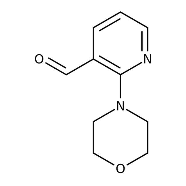 2-Morpholin-4-yl-Pyridin-3-Carbaldehyd, 95 %, Maybridge Braunglasflasche, 1 g 2-Morpholin-4-yl-Pyridin-3-Carbaldehyd, 95 %, Maybridge