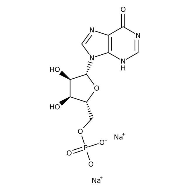 Alfa Aesar™Inosin-5'-Monophosphat-Dinatriumsalsalzhydrat 25g Alfa Aesar™Inosin-5'-Monophosphat-Dinatriumsalsalzhydrat