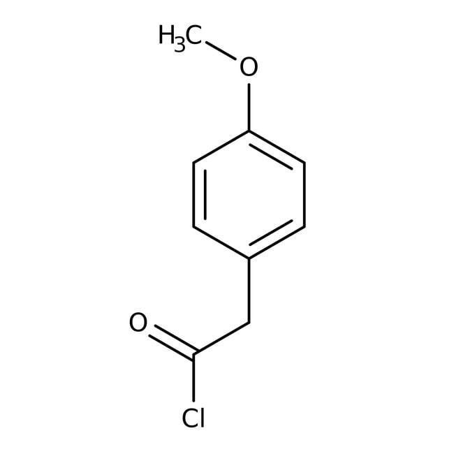 4-Methoxyphenylacetyl chloride, 98%, ACROS Organics