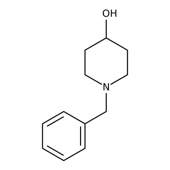 1-Benzyl-4-hydroxypiperidine, 97%, ACROS Organics™