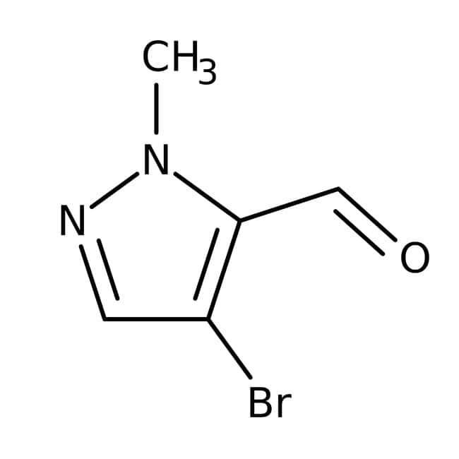 4-Bromo-1-methyl-1H-pyrazole-5-carbaldehyde, ≥97%, Maybridge: Aldehydes Carbonyl compounds