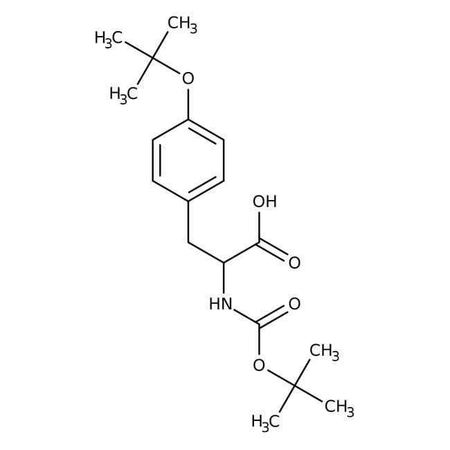 Alfa Aesar™N-Boc-O-tert-butyl-L-tyrosine, 98%: Biochemicals Chemicals
