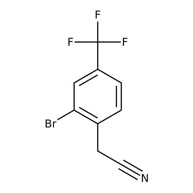 Alfa Aesar™2-Bromo-4-(trifluoromethyl)phenylacetonitrile, 98%
