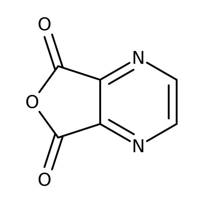2,3-Pyrazinedicarboxylic anhydride, 97%, ACROS Organics™ 25g; Glass bottle 2,3-Pyrazinedicarboxylic anhydride, 97%, ACROS Organics™