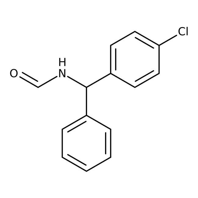 N-[(S)-alpha-(4-Chlorophenyl)benzyl]formamide, 98%, Alfa Aesar™ 1g N-[(S)-alpha-(4-Chlorophenyl)benzyl]formamide, 98%, Alfa Aesar™