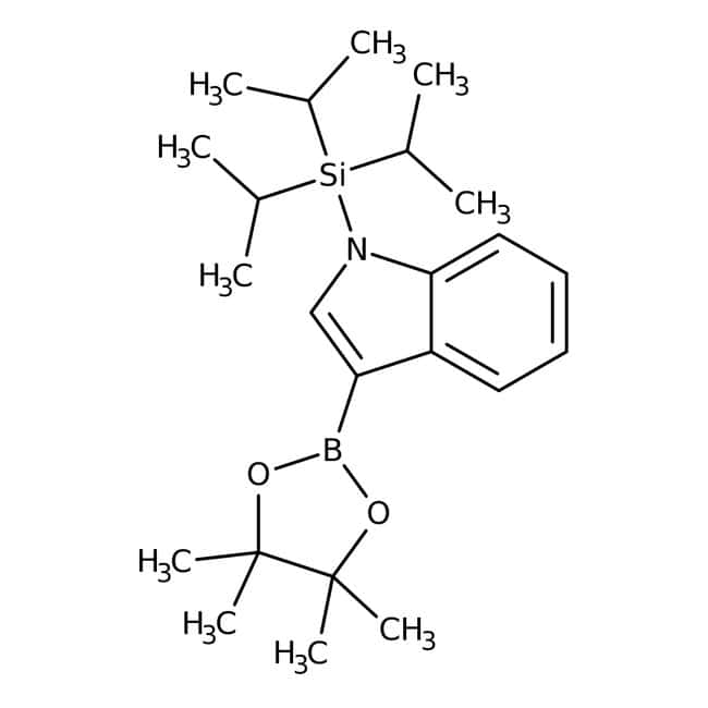 N-TIPS indole-3-boronic acid pinacol ester, 97%, ACROS Organics